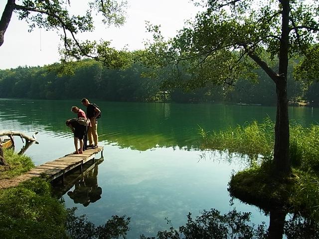 ベルリン夏の楽しみー湖で泳ぐ。_f0200015_053777.jpg