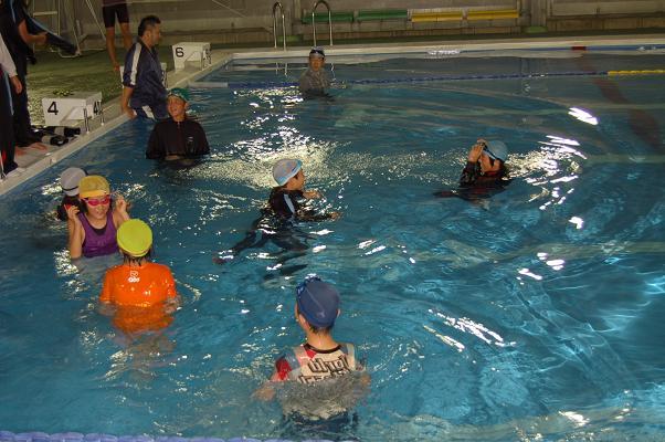 着衣泳体験会_d0010630_13414740.jpg