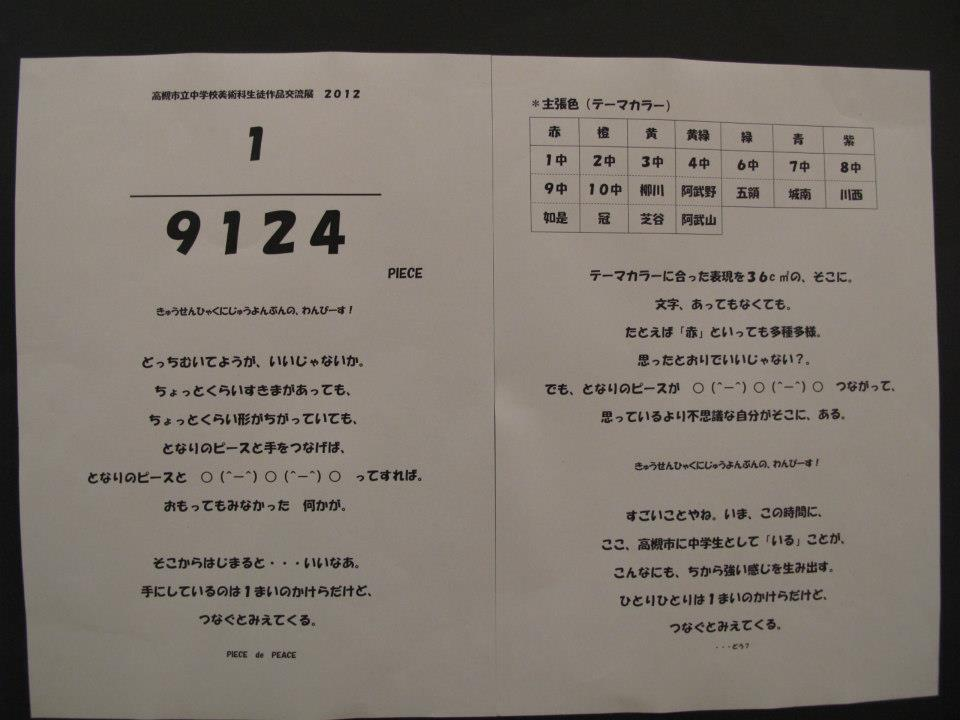 「中学校美術Q&A」のAction Plan(案)作品展(3)_b0068572_17365643.jpg