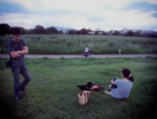 夏の終わりの素敵な夕べ。_d0077603_8501184.jpg
