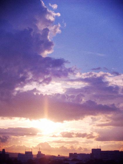 夏の終わりの素敵な夕べ。_d0077603_951595.jpg