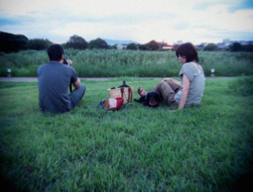 夏の終わりの素敵な夕べ。_d0077603_994855.jpg