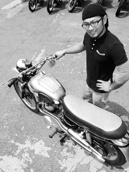 5COLORS「君はなんでそのバイクに乗ってるの?」#60_f0203027_193424.jpg