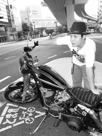 5COLORS「君はなんでそのバイクに乗ってるの?」#60_f0203027_1935815.jpg