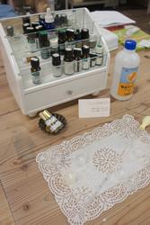 スマートコミュニティーでアロマ香水作りのレッスン実施しました!_c0165636_1252896.jpg