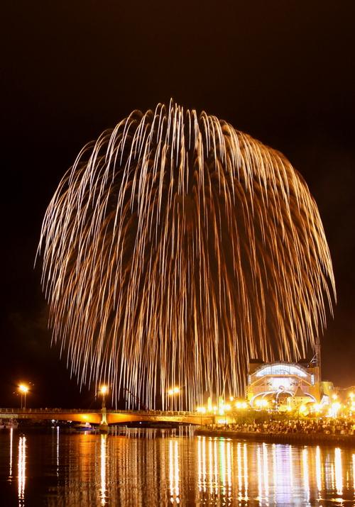 ドッカ~ン!北海道最大級三尺玉のド迫力 9月2日 _f0113639_14215058.jpg