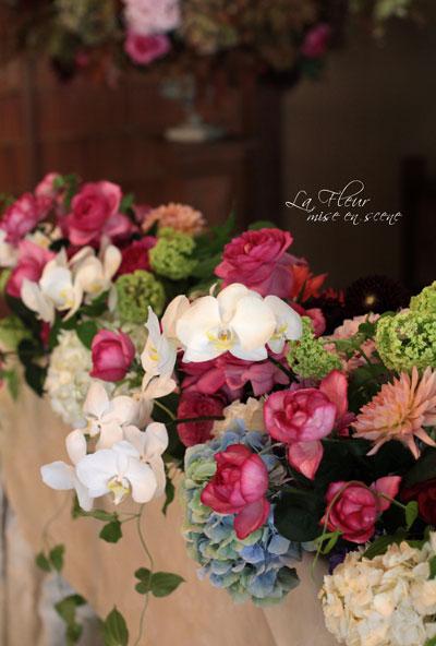 結婚式の飾花_f0127281_2214437.jpg