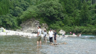 川遊び&鮎三昧_e0190082_14331791.jpg