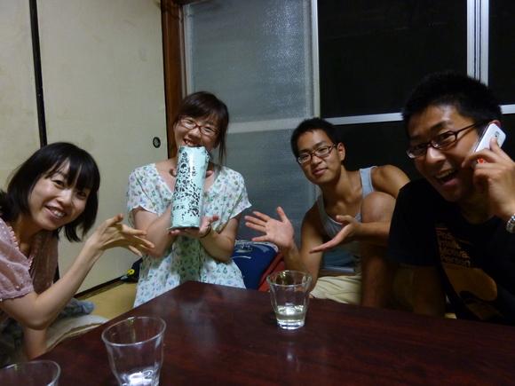 静岡帰りのざっきぃが来てくれました!_a0080406_12301641.jpg
