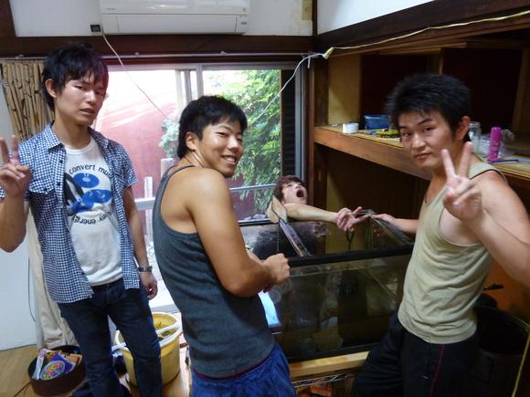 水槽移動!!みやとくんちゃんが遊びに来てくれました!_a0080406_12533256.jpg