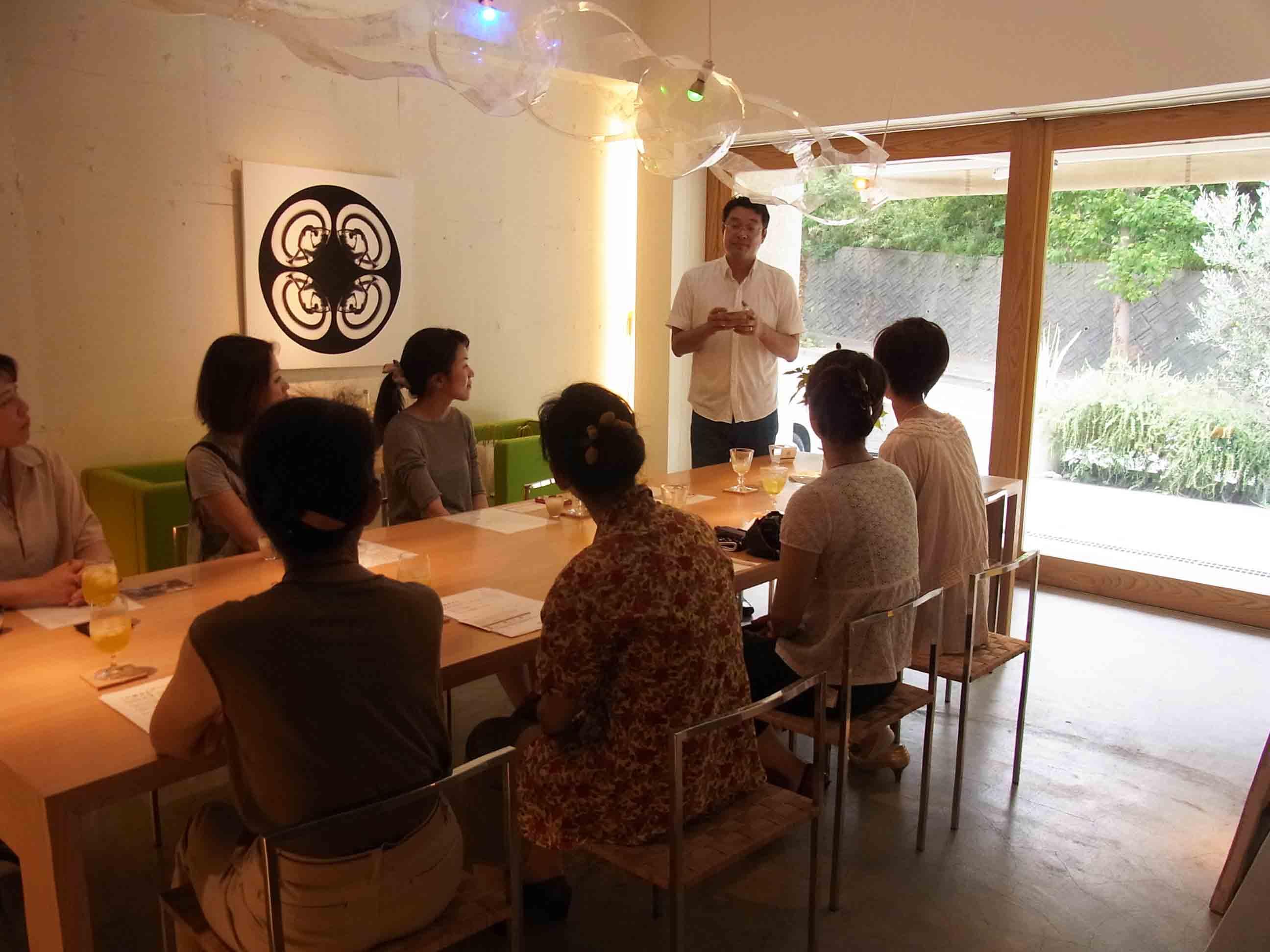 糀テーマの料理教室がいよいよスタート(記:藤本紀久子)_a0195310_0383084.jpg