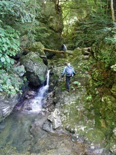 明石谷支流ナラ谷大滝から明石1141.3m_a0133014_18131112.jpg