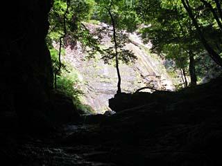 明石谷支流ナラ谷大滝から明石1141.3m_a0133014_18131928.jpg