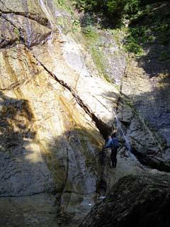 明石谷支流ナラ谷大滝から明石1141.3m_a0133014_18133234.jpg
