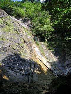 明石谷支流ナラ谷大滝から明石1141.3m_a0133014_18133955.jpg