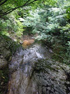 明石谷支流ナラ谷大滝から明石1141.3m_a0133014_18143390.jpg