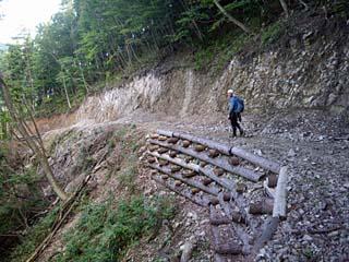 明石谷支流ナラ谷大滝から明石1141.3m_a0133014_18161311.jpg