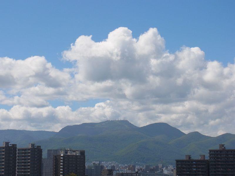 夏が戻ってきた札幌_c0025115_16295192.jpg