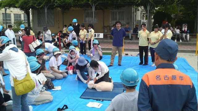 備えよ常に ~中村区総合防災訓練の巻~_b0157157_16392311.jpg