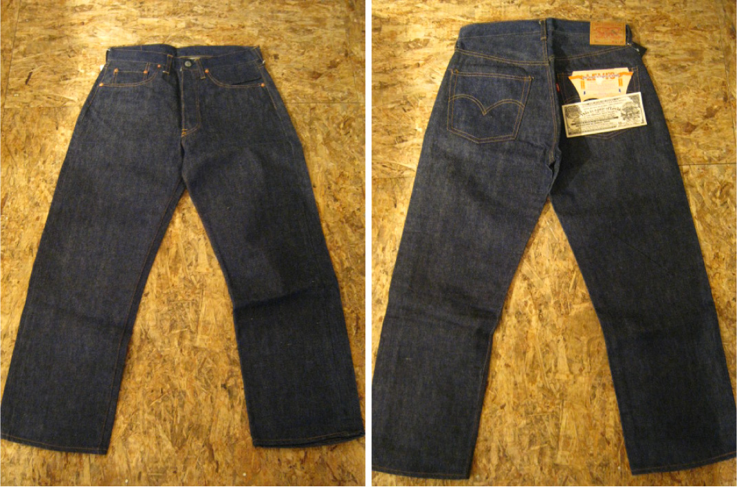 "DeadStock LEVI\'S 501 BIG ""E\"" A-Type入荷。_b0121563_19122036.jpg"