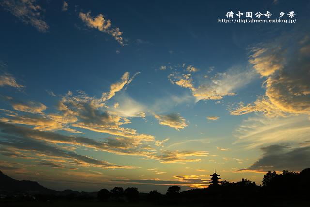 備中国分寺の夕景 9/1_c0083985_027377.jpg