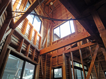 木造住宅の改修・「タブの木のある家」の工事風景_c0195909_932219.jpg