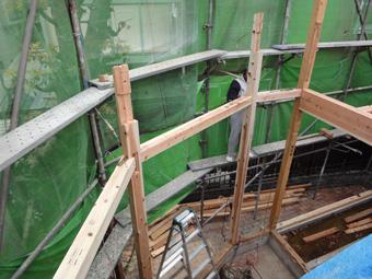 木造住宅の改修・「タブの木のある家」の工事風景_c0195909_932421.jpg
