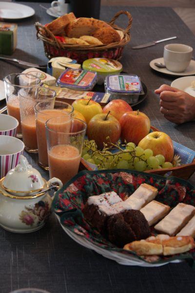 デンマーク旅行記11 朝食について_b0188357_2362623.jpg