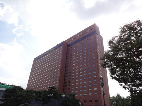 まったりソウル その1 「新羅ホテルにおこもり♪」_f0054260_17133785.jpg