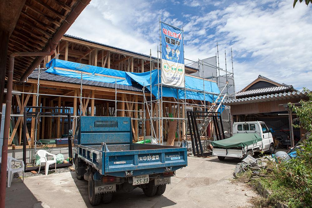 木造2階建て風通しのいい家 〜その4〜_a0163962_17353178.jpg