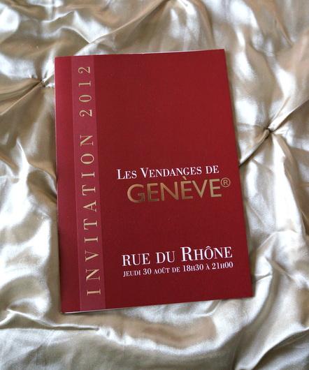 Vendanges de Geneve: 高級ブランド店でワイン試飲_c0201334_8235693.jpg