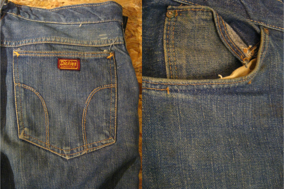 40\'s WWⅡ Dickies DenimPants入荷_b0121563_1821897.jpg