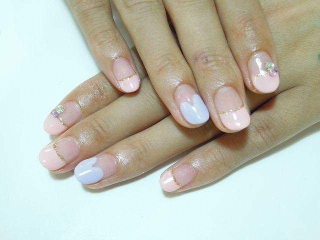 Pickup Nail〜Pink_a0239065_16421330.jpg