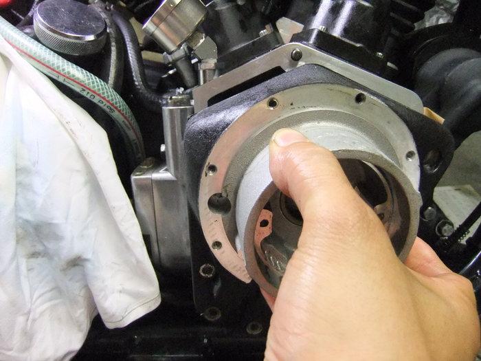 エボ エンジン ブローバイ増設 2_c0226202_19414364.jpg