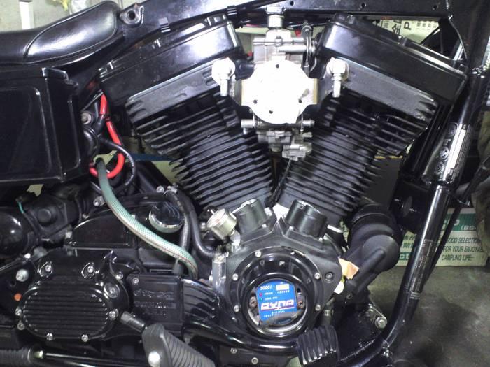 エボ エンジン ブローバイ増設 2_c0226202_19424054.jpg