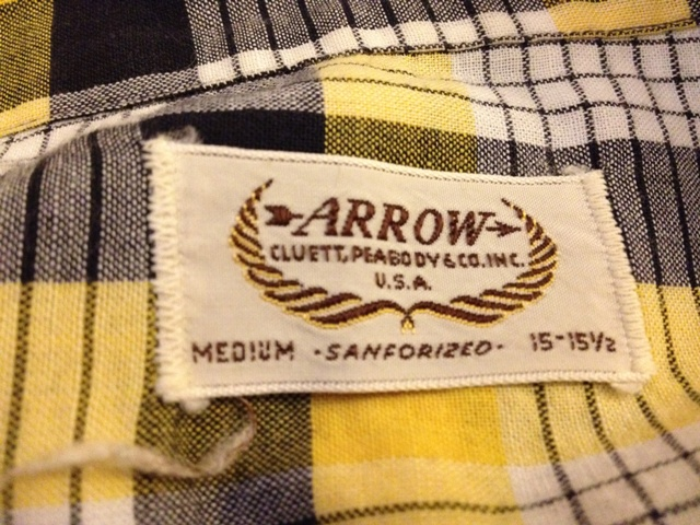 アメリカ仕入れ情報#7 50'S コットンシャツ!_c0144020_213338.jpg