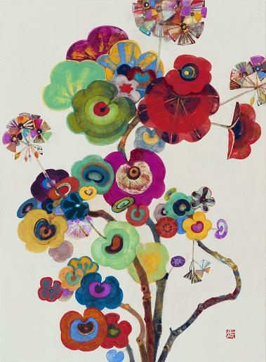 色とかたち 漆×日本画_a0131787_12291223.jpg