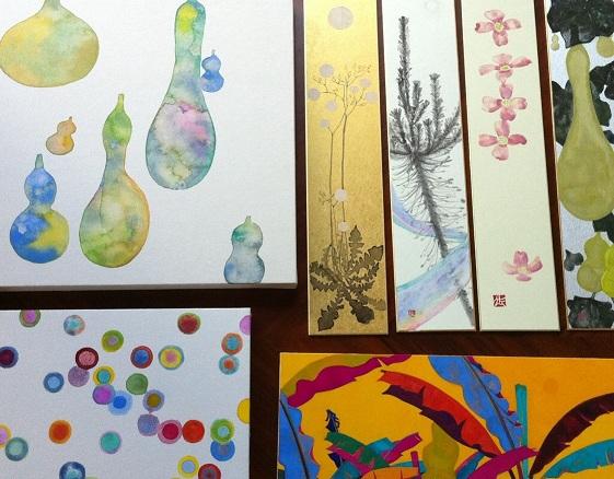 色とかたち 漆×日本画_a0131787_134772.jpg