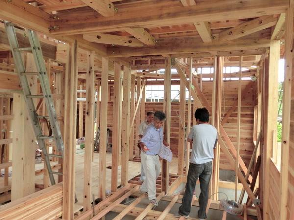 【木の家づくり】 構造見学会のお知らせ_f0227395_11222612.jpg