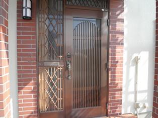玄関カバー工法_b0232198_1492981.jpg