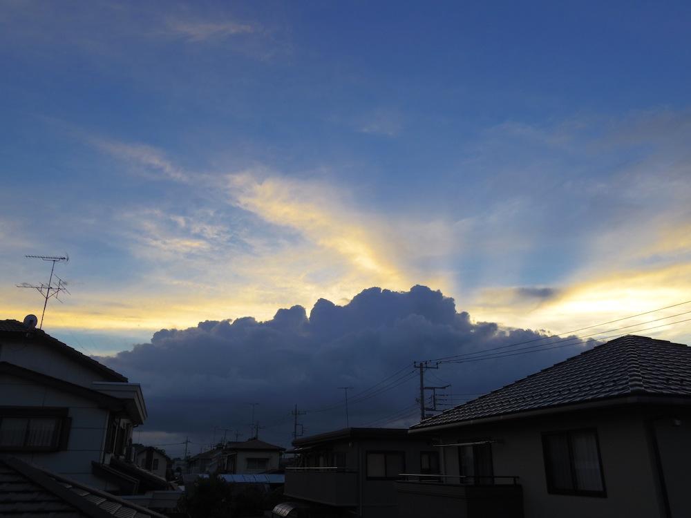 嵐の後の夕焼け_f0138807_016146.jpg