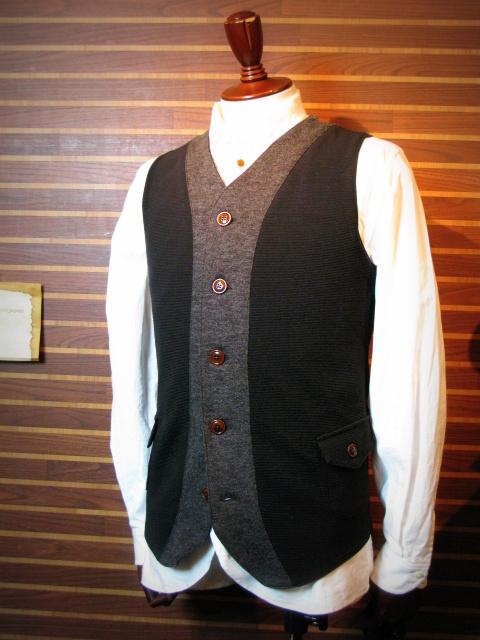 ◆Milano Rib Tailor Vest _e0142928_195723.jpg