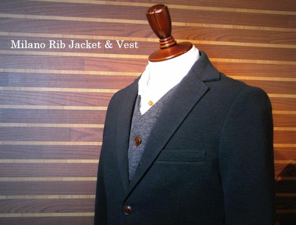 ◆Milano Rib Tailor Vest _e0142928_2015439.jpg