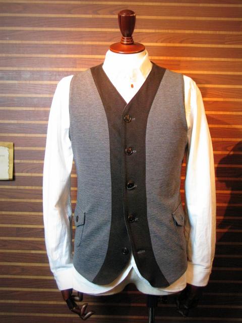 ◆Milano Rib Tailor Vest _e0142928_2023718.jpg