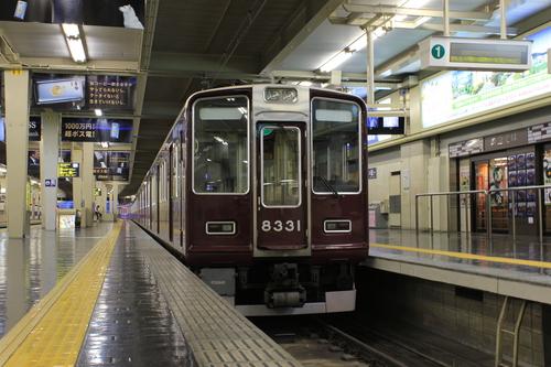 早朝の阪急梅田駅_d0202264_039663.jpg