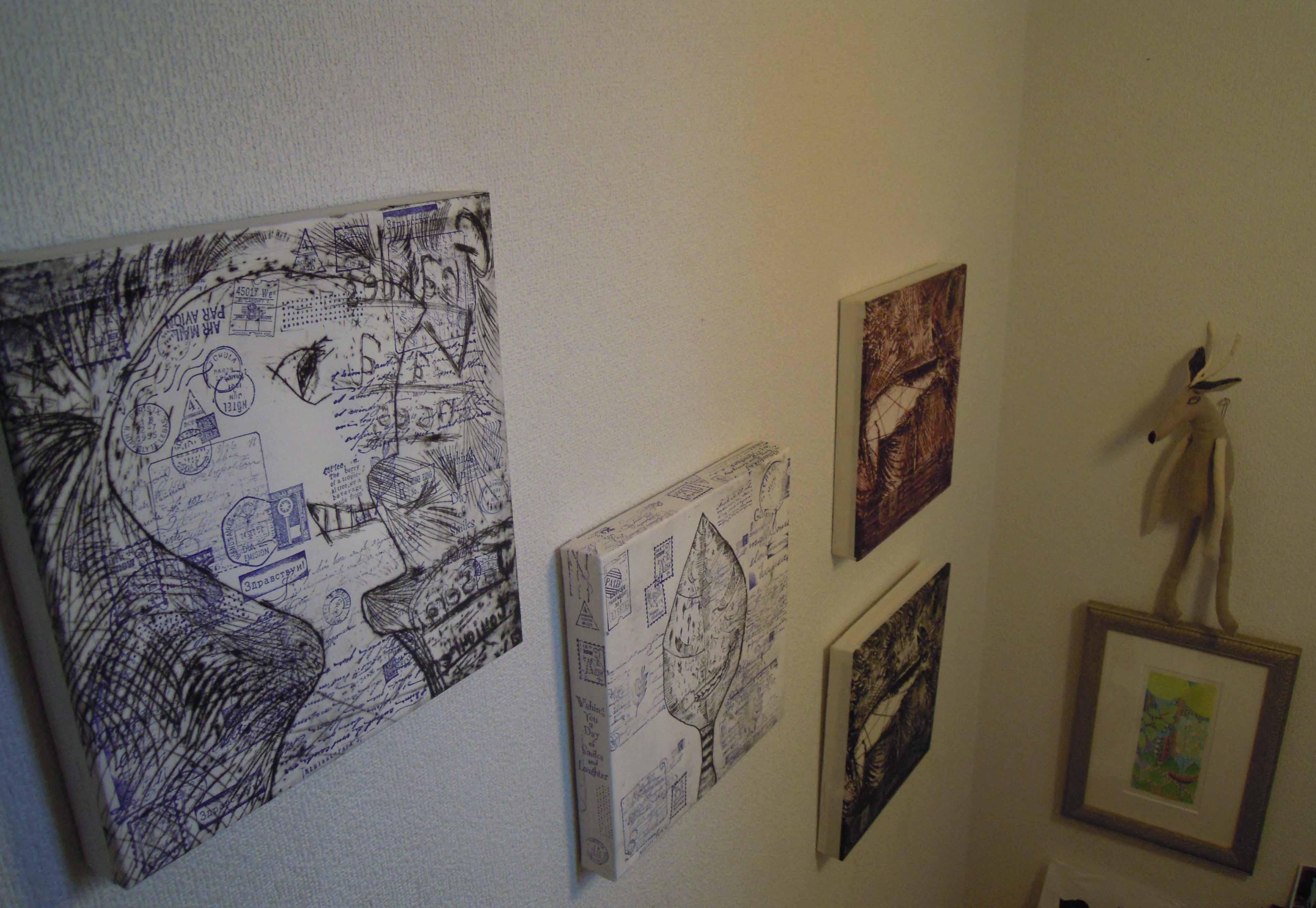 展覧会の作品の一部。_e0256436_36112.jpg