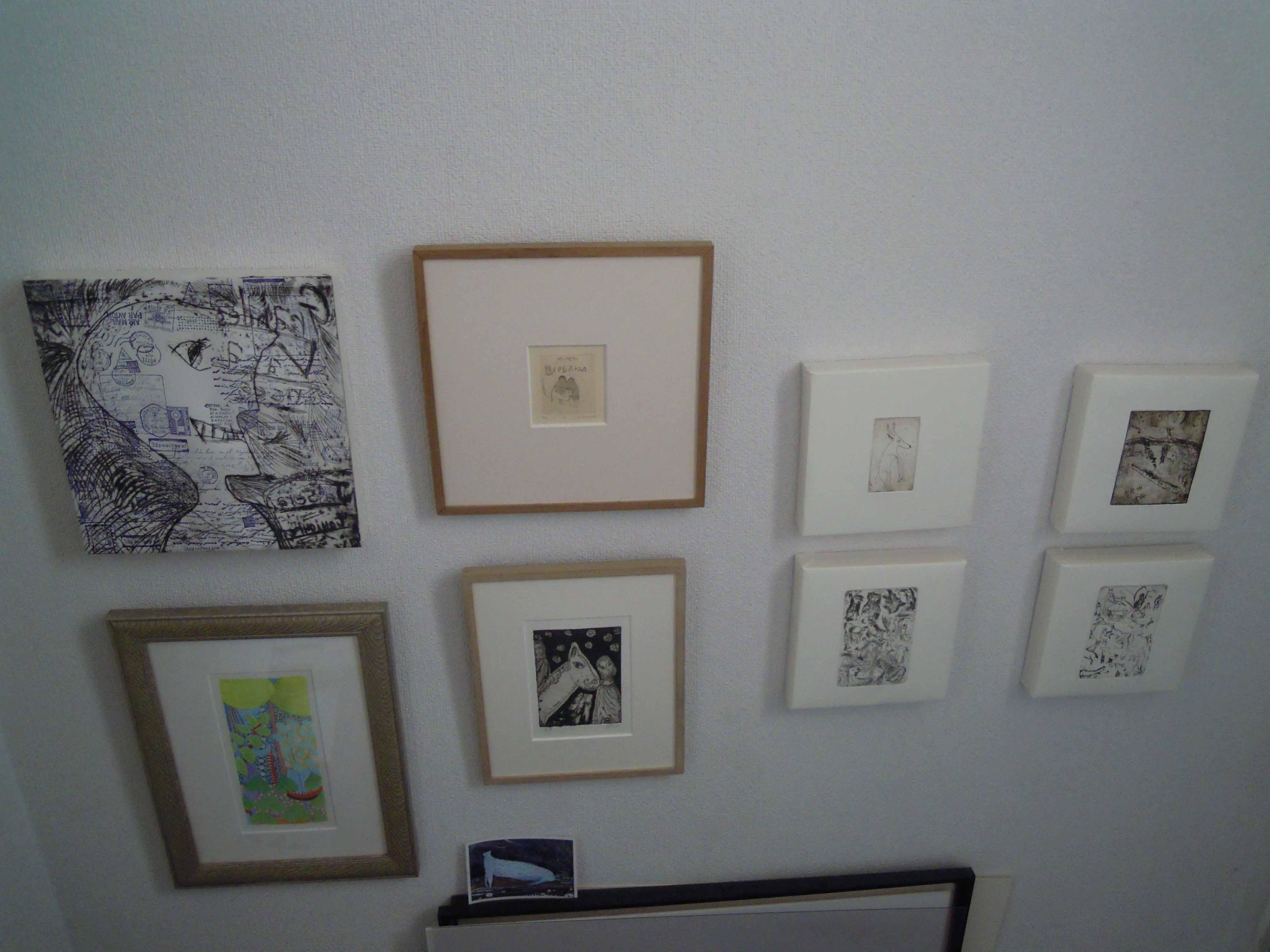展覧会の作品の一部。_e0256436_648517.jpg