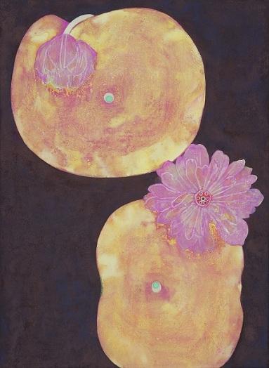 色とかたち 漆×日本画_a0131787_12221149.jpg