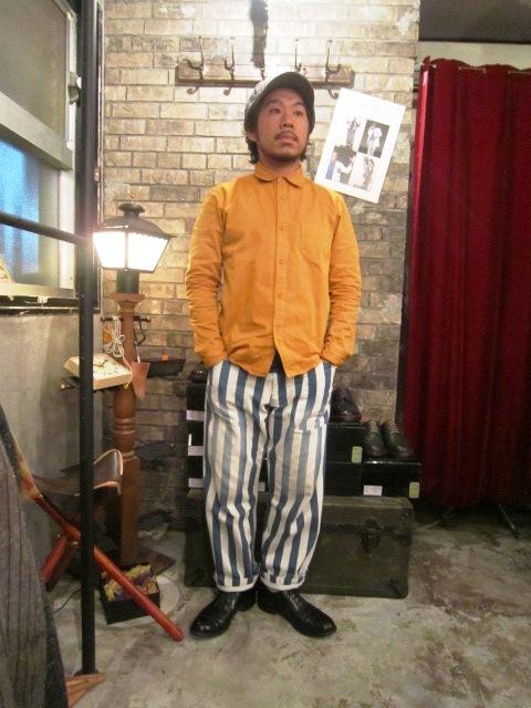 "AmanjaKania \""Big Stripe Pants&Parka\"" ご紹介_f0191324_9445287.jpg"