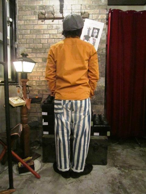 "AmanjaKania \""Big Stripe Pants&Parka\"" ご紹介_f0191324_945012.jpg"